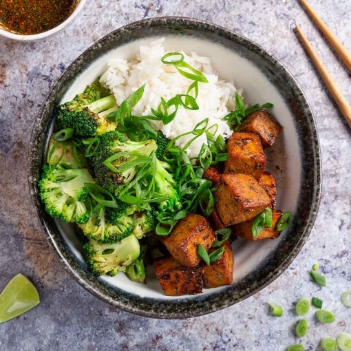 Asia Bowl mit Tofu