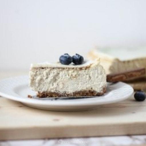 Cheesecake mit Saure-Sahne-Topping