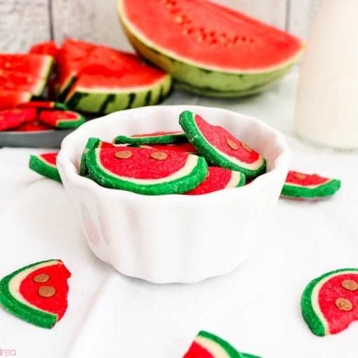 Kekse in Wassermelonen-Optik