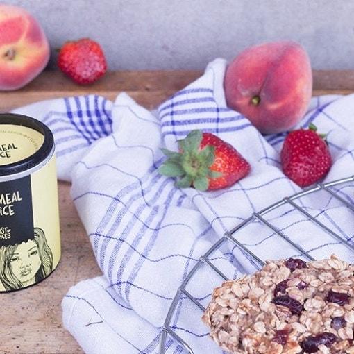 Frühstücks-Cookies mit Cranberries