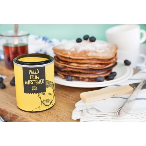 Paleo-Blaubeer-Pancakes