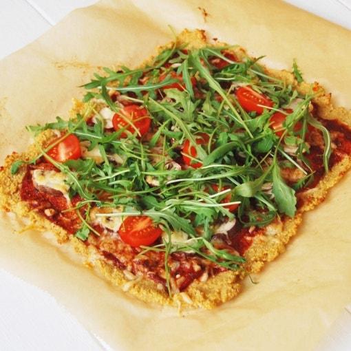 simple Couscous-Pizza