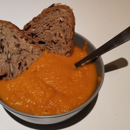 Süßkartoffel-Kürbis-Suppe