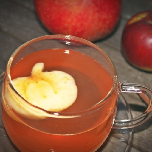 ApfelSTROHdel Getränk