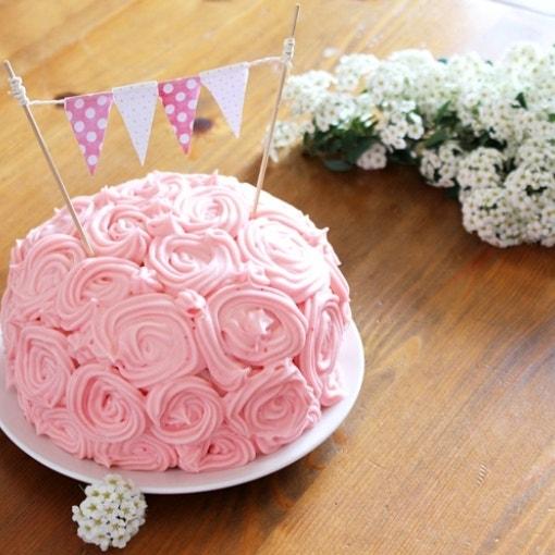 Schoko-Erdbeer-Mini-Torte