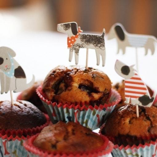 Eierlikör-Schoko-Kirsch Muffins