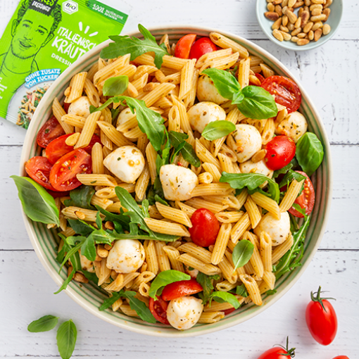 Italienischer Nudelsalat mit Dressing Mix