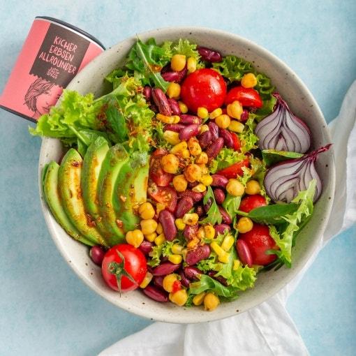 Mexikanische Salat Bowl