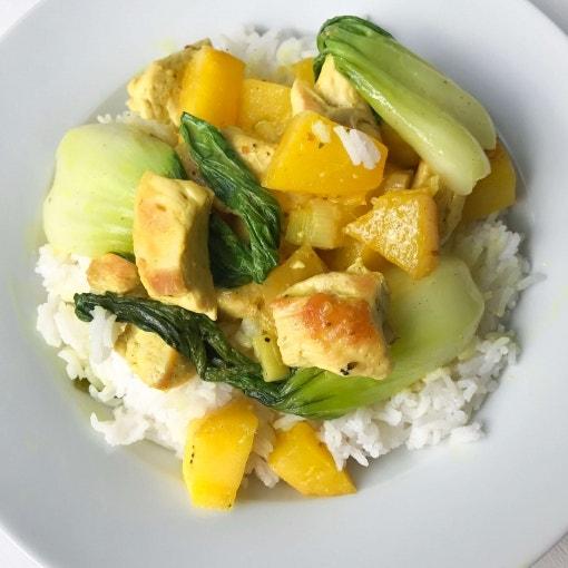 Puten-Mango-Curry