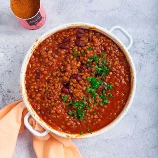Schnelles veganes Chili