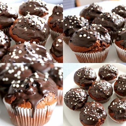 Nutella Schoko Muffins
