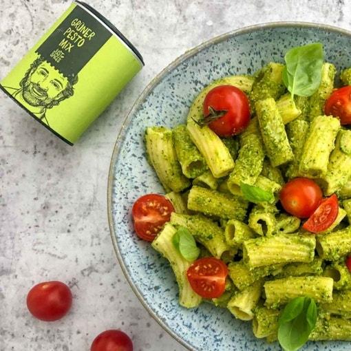 Schnelle Pasta mit Pesto