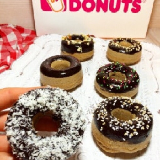 Selfmade Donuts mit Protein