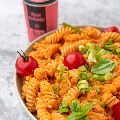 Cremige Tomatenpasta