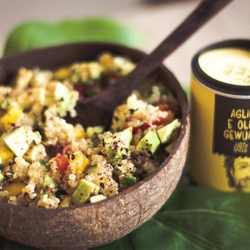 würziger Quinoa Salat