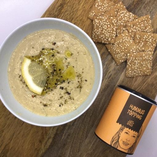 Weiße-Bohnen-Hummus