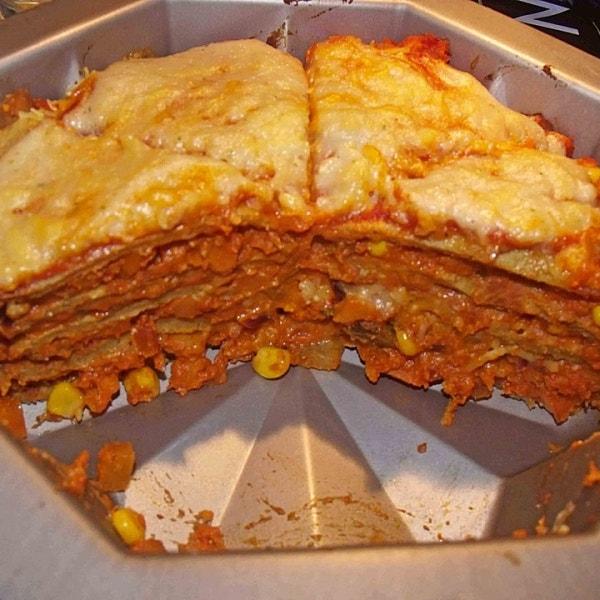 Vegane Pfannkuchen Lasagne