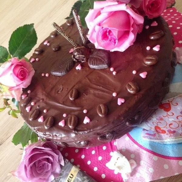 Schoki Kuchen (Quicky)