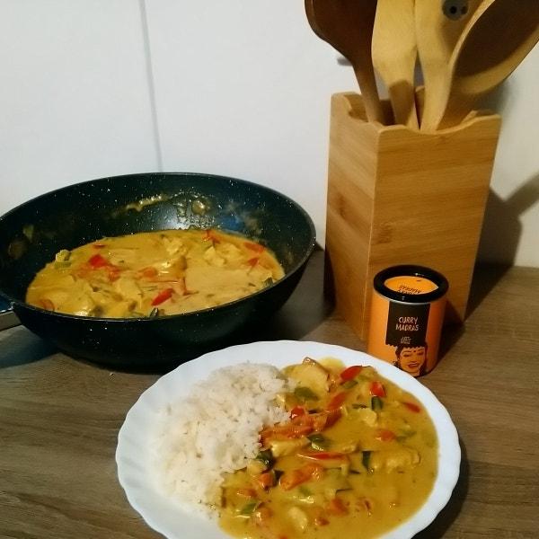 Fruchtiges Thai  Curry