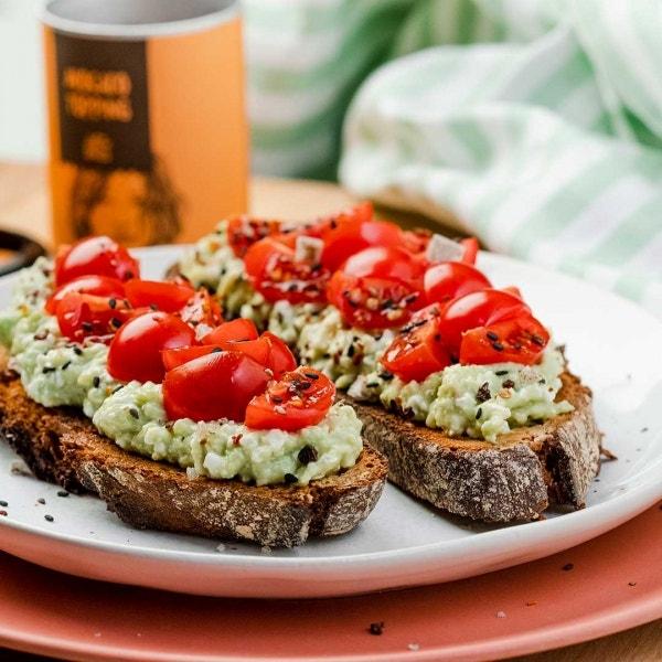 Avocado-Tomatenbrot
