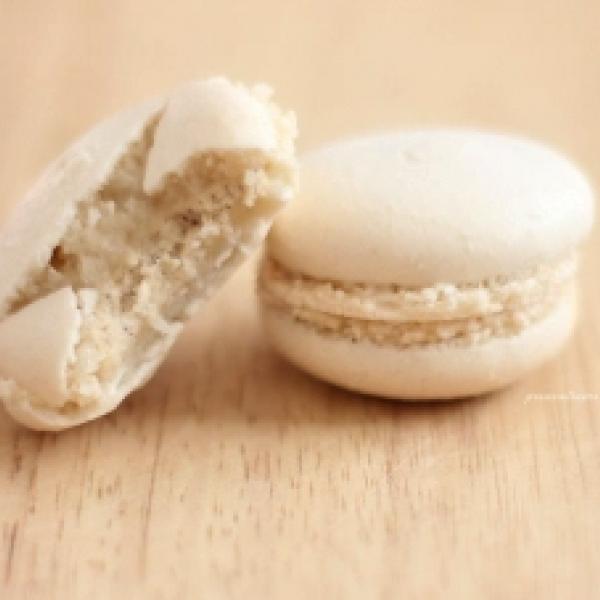 Vanille-Macarons