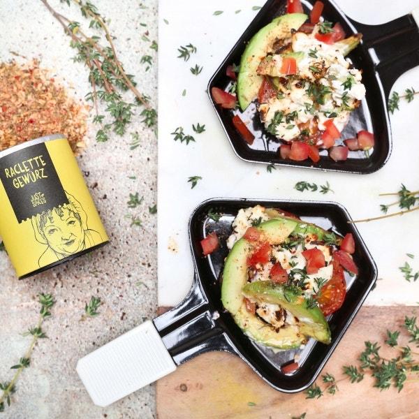 Ziegenkäse Pfännchen (Raclette)