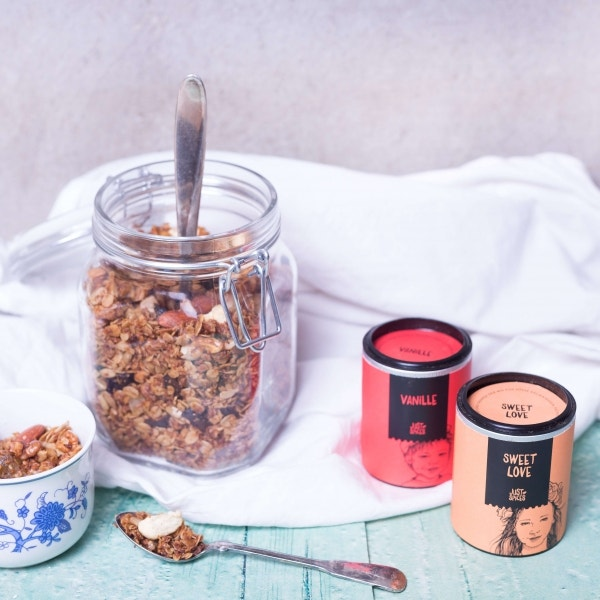Granola-Müsli vom Blech