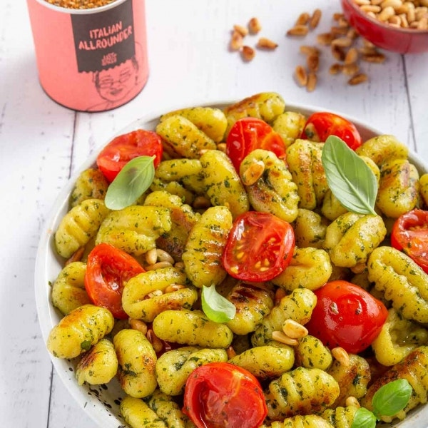 Gnocchi mit grünem Pesto