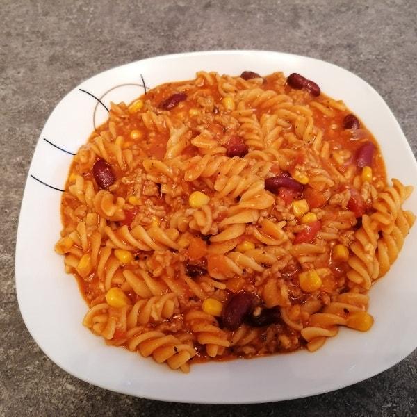 Mexikanische Pasta One-Pot