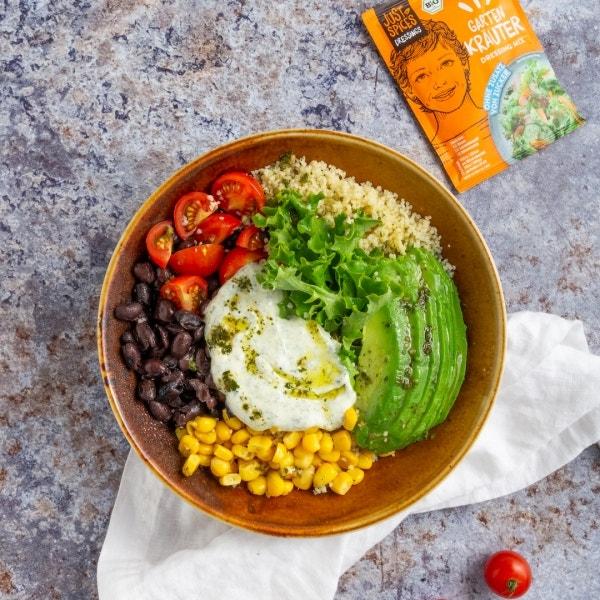 Bunte Salatbowl