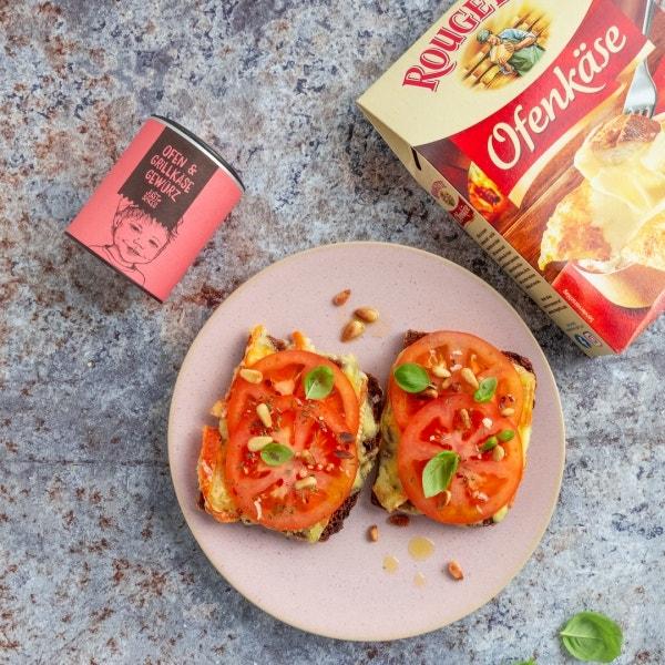 Tomaten Käse Stulle