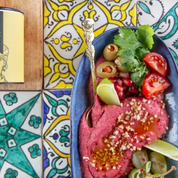 Orientalischer Rote Bete Hummus