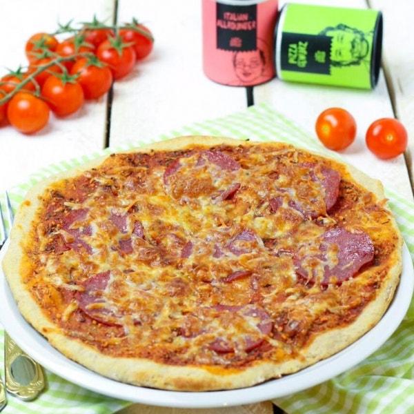 Pizzateig mit nur 3 Zutaten