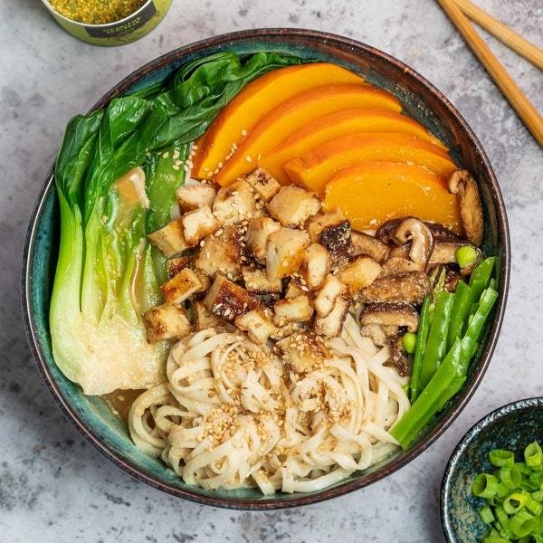 Vegane Ramen Suppe