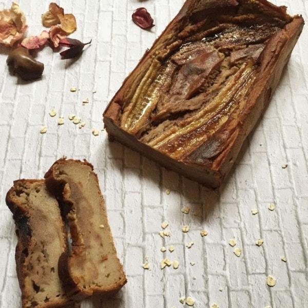 Kichererbsen-Bananen Brot