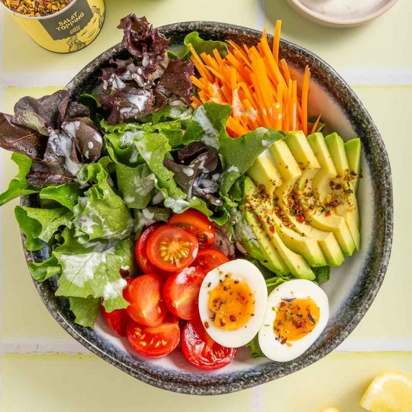 Salat mit Ei