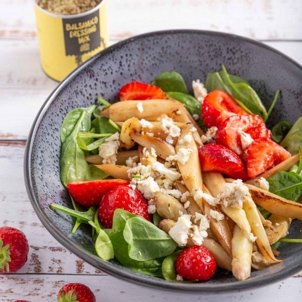 Weißer Spargel Salat