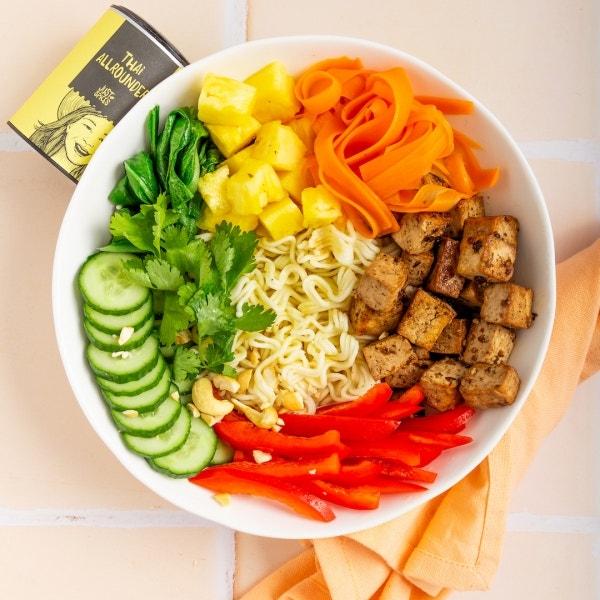 Asia Bowl mit Gemüse