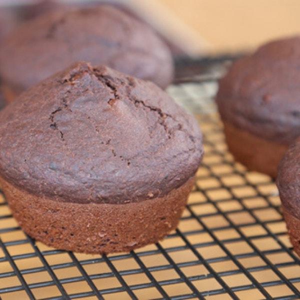 Thermomix Vegane Schoko Muffins