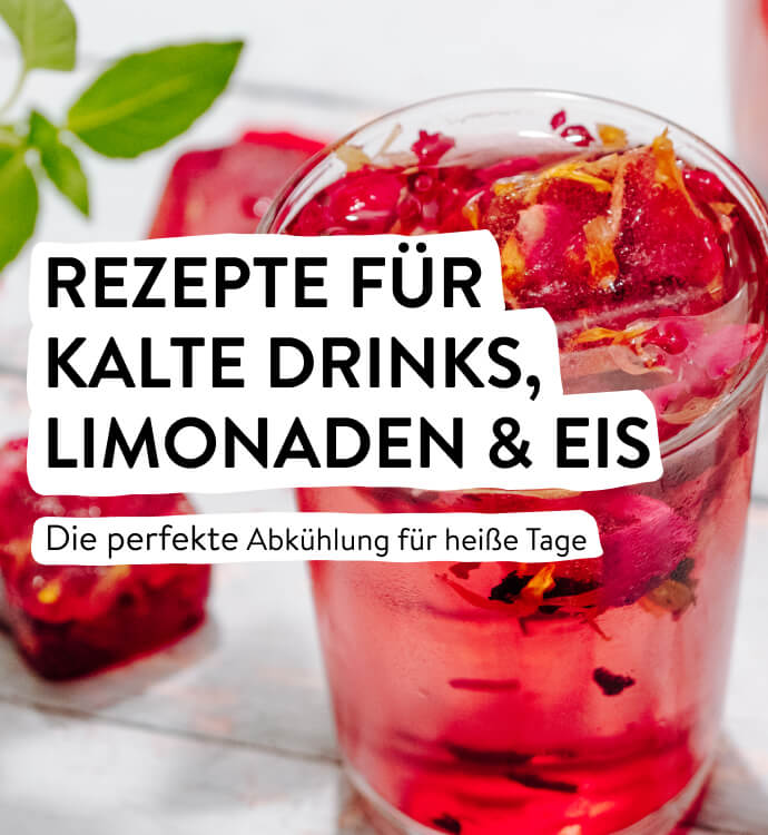 Kalte Drinks, Limonaden & Eis
