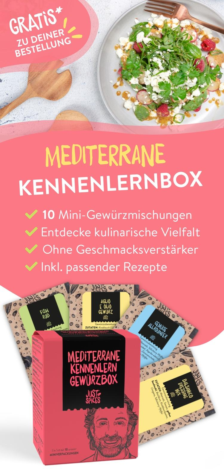 Mediterane Kennenlernbox