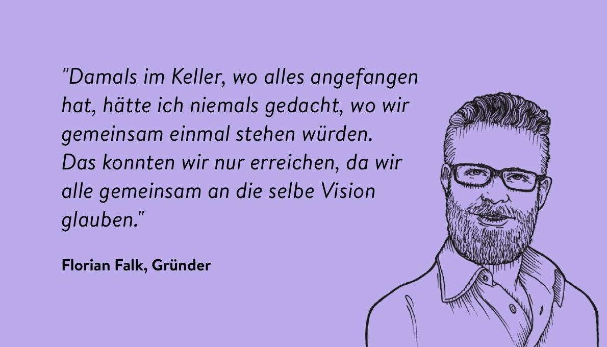 Zitat Florian Falk