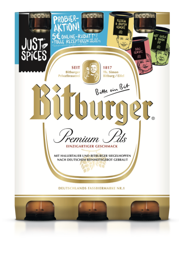 Just Spices & Bitburger
