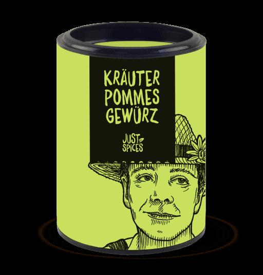 Kräuter Pommes Gewürz Dose