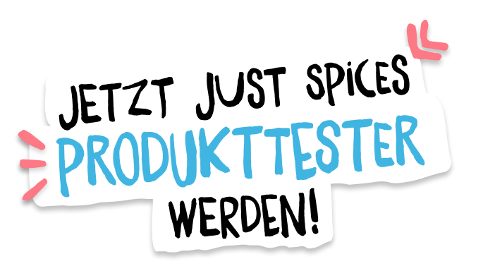 Jetzt Just Spices Produkttester