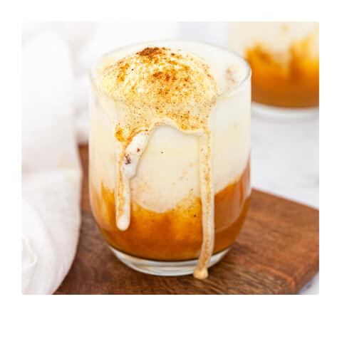 Pumpkin Iced Latte