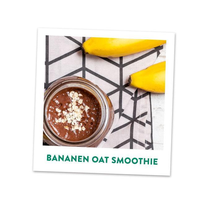 Bananen Oats Smoothie