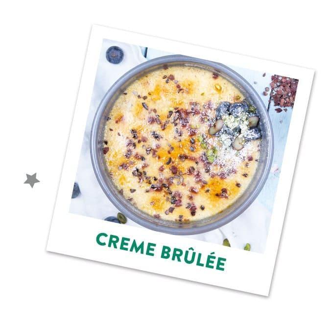 CHerry Kiss Creme Brulee